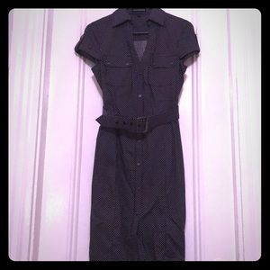 Express Buttoned down shirt dress